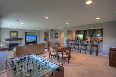 Florida room/play room, plus the eat in bar is connected to the kitchen