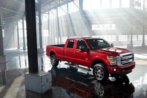 Eric's Truck - Ford F-250 Diesel 4-dook pickup truck (2012)