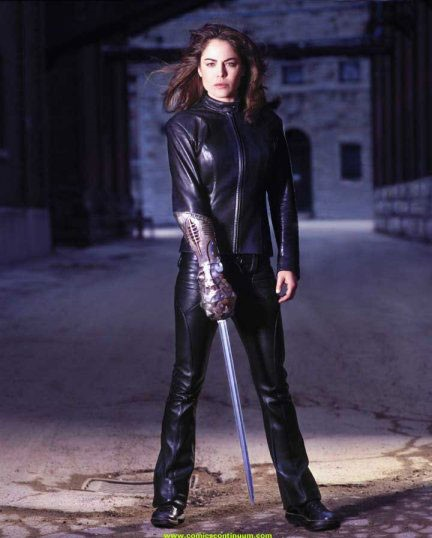 Helene or Mother played by Yancy Butler